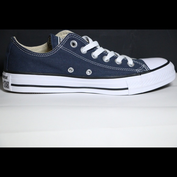 c59b4606549a Converse Classic Navy Blue All Star Low Tops